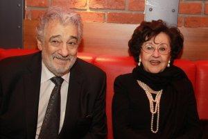 Placido Domingo s manželkou Martou Ornelas - Praha 2012 (photo archív Jana Adama)