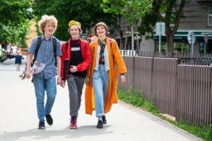 chůze do školy
