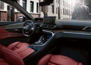 Interier Peugeotu 3008