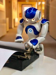 AI Když robot píše hru_foto THEaiTRE