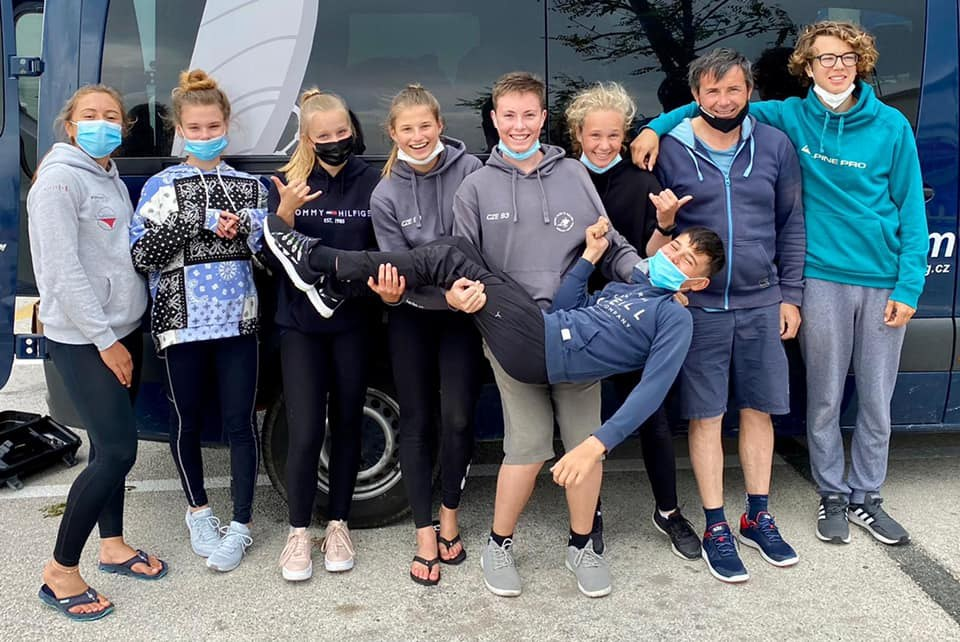 mladí závodníci SpS a SCM Techno 293
