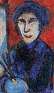 Marc Chagall, Le Paintre