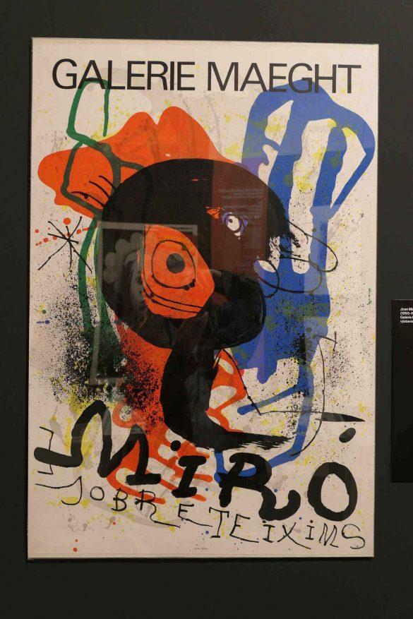 Výstavní plakát Joan Miró, 1973