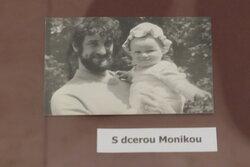 J.Štreit s dcerou Monikou