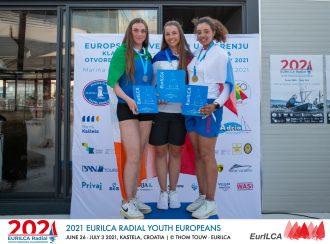 2021 ILCA 6 Youth European Championships- Kastella-Croatia