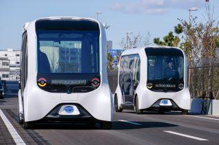 Autonomní elektrický vůz e-Palette od Toyoty