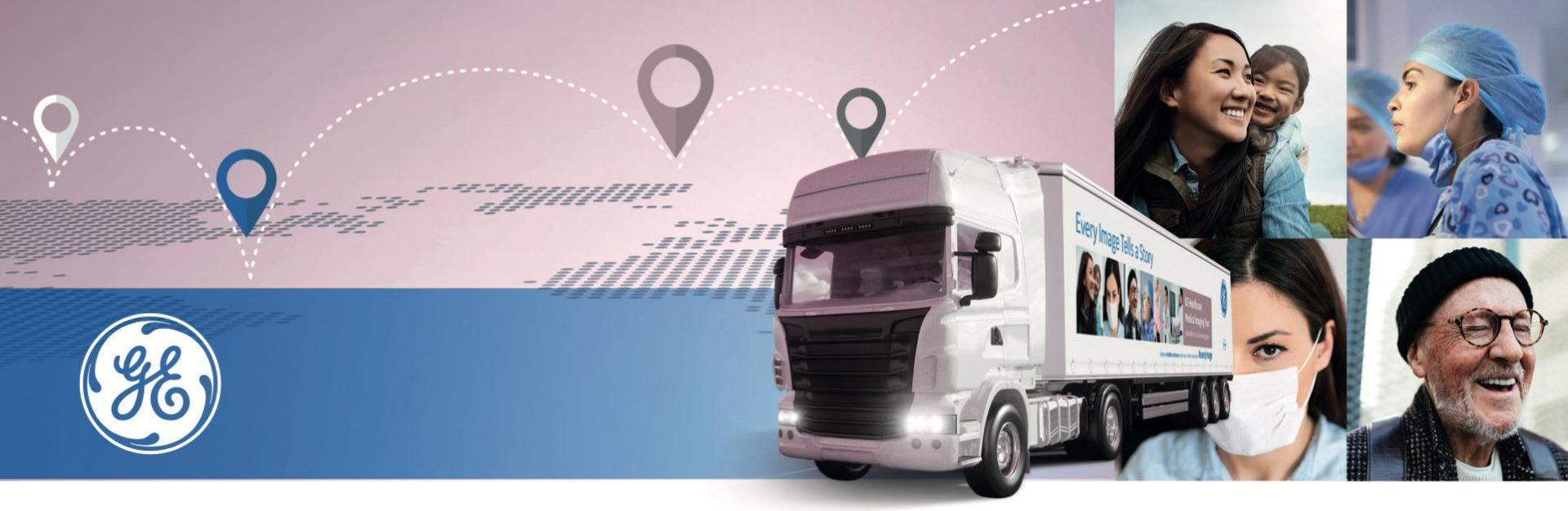 GE Healthcare Truck