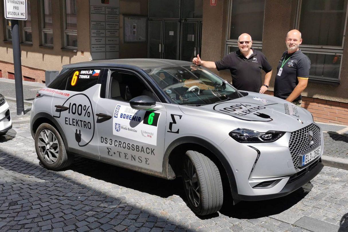 Posádka Zdeněk Trnka se Zdeňkem Smolíkem úspěšně reprezentovai DS Automobiles již při loňském ročníku ECO energy Rallye Bohemia 2020