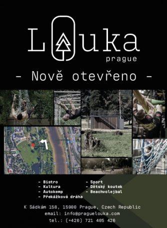 Prague Louka plakat