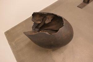 Kmentová, Lidské vejce,1968,bronz