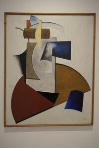 Alexander Michajlovič Rodčenko, Nepředmětná kompozice, 1919,olej, plátno