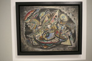 Vasilij Vasiljevič Kandinskij,Improvizace č.227, olej, plátno
