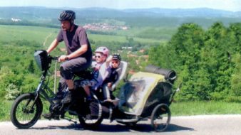 preprava na kole