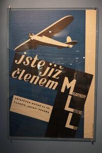 Josef Hesoun, Jste již členem Masarykovy letecké ligy, 1928, propagační plakát