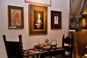 salonek v zámku