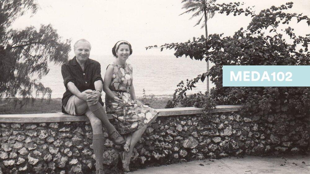 Meda Mládková s manželem